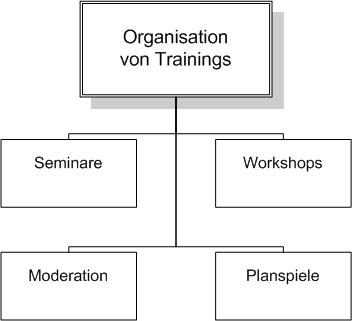 GAHO-Consult, Überblick Trainingsorganisation